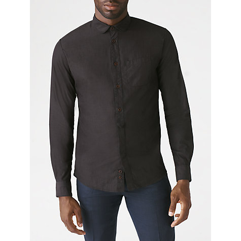 Buy Jigsaw End On End Slim Fit Shirt Online at johnlewis.com