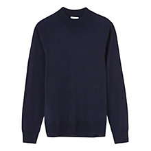 Buy Jigsaw Merino Mock Turtle Neck Jumper Online at johnlewis.com