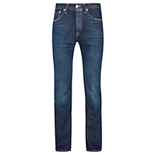 Buy Levi's 501 Harrison Straight Jeans, Dark Blue Rinse Online at johnlewis.com