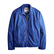 Buy Joules Kinsley Lightweight Harrington Jacket, Ink Blue Online at johnlewis.com