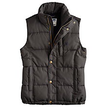 Buy Joules Rutland Quilted Gilet, Grey Online at johnlewis.com