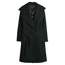 Buy Mango Wide Lapel Belt Coat Online at johnlewis.com
