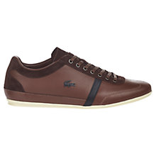 Buy Lacoste Misano Trainers Online at johnlewis.com