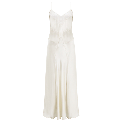Somerset by Alice Temperley Gatsby Bridal Long Chemise, Ivory