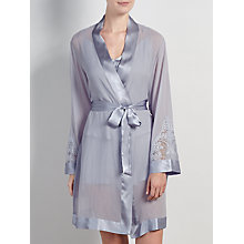 Buy Somerset by Alice Temperley Gatsby Bridal Kimono, Silver Blue Online at johnlewis.com