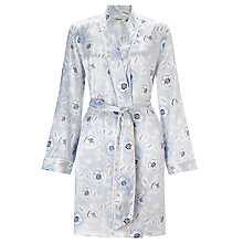 Buy Somerset by Alice Temperley Folk Floral Kimono Robe, Blue Multi Online at johnlewis.com