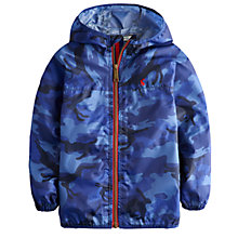 Buy Little Joule Boys' Rainy Day Waterproof Mac, Blue Online at johnlewis.com