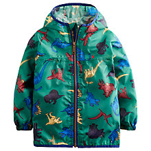 Buy Little Joule Boy's Rainy Day Waterproof Mac, Oak Green Online at johnlewis.com