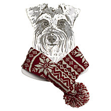 Buy Mutts & Hounds Fairisle Knitted Dog Scarf Online at johnlewis.com