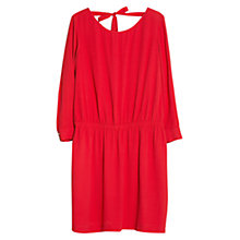 Buy Violeta by Mango Elastic Waist Dress, Bright Red Online at johnlewis.com