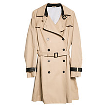 Buy Violeta by Mango Applique Classical Trench Coat, Beige Online at johnlewis.com