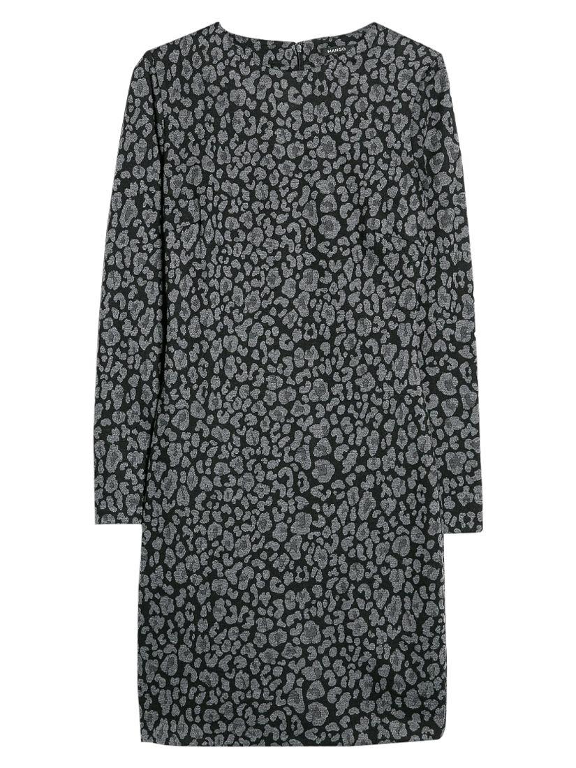 mango jacquard leopard print dress light pastel grey, mango, jacquard, leopard, print, dress, light, pastel, grey, clearance, womenswear offers, womens dresses offers, women, inactive womenswear, new reductions, womens dresses, special offers, 1654322