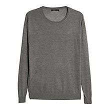 Buy Mango Openwork Trim Jumper Online at johnlewis.com
