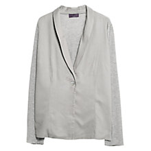 Buy Violeta by Mango Contrast Flowy Jacket Online at johnlewis.com