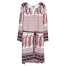 Buy Violeta by Mango Print Bow Dress, Multi Online at johnlewis.com