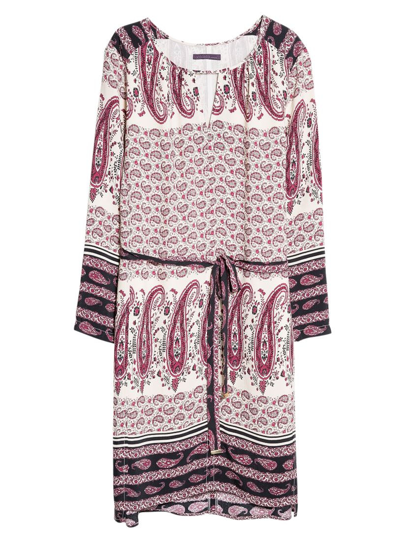 violeta by mango print bow dress multi, violeta, mango, print, bow, dress, multi, violeta by mango, clearance, womenswear offers, womens dresses offers, women, plus size, inactive womenswear, new reductions, womens dresses, special offers, 1667295