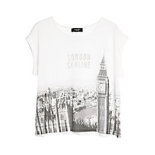 Buy Mango City Print T-shirt Online at johnlewis.com