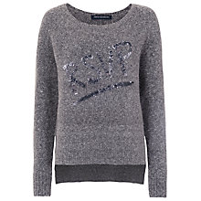 Buy French Connection RSVP Jumper, Grey Online at johnlewis.com