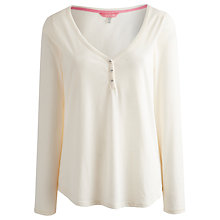 Buy Joules Charis Long Sleeve Top, Ivory Online at johnlewis.com