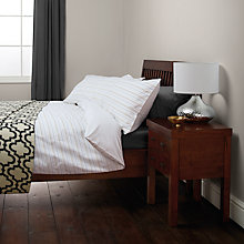 Buy John Lewis Zola Stripe Duvet Cover and Pillowcase Set Online at johnlewis.com
