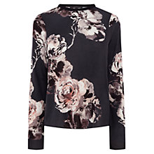 Buy Coast Akoni Floral Top, Multi Online at johnlewis.com