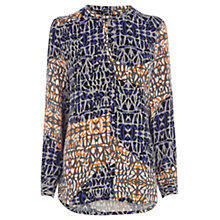 Buy Wishbone Gracie Geo Blouse, Multi Online at johnlewis.com