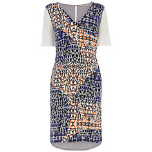 Buy Wishbone Manon Geo Print Dress, Multi Online at johnlewis.com