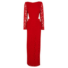 Buy Coast Romilla Maxi Dress, Red Online at johnlewis.com