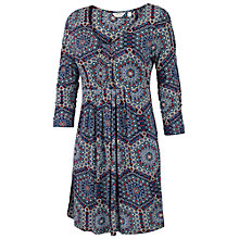 Buy Fat Face Hexagons Tunic Dress, Navy Online at johnlewis.com