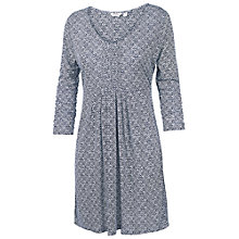 Buy Fat Face Diamond Ditsy Tunic Dress, Navy Online at johnlewis.com