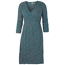 Buy Adrianna Papell Illusion Neck Lace Dress, Dark Silver Online at johnlewis.com