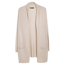 Buy Mango Mohair Cardigan, Light Beige Online at johnlewis.com