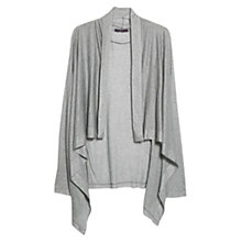 Buy Violeta by Mango Waterfall Jacket, Light Pastel Grey Online at johnlewis.com