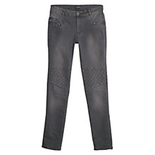 Buy Violeta by Mango Slim Fit Colchi Jeans, Dark Grey Online at johnlewis.com