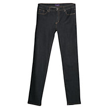 Buy Violeta by Mango Slim Fit Jeans, Dark Blue Online at johnlewis.com