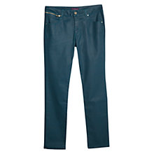 Buy Violeta by Mango Coated Slim-Fit Carmex Jeans Online at johnlewis.com