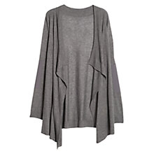 Buy Violeta by Mango Elbow Patch Waterfall Cardigan Online at johnlewis.com