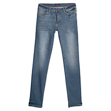 Buy Violeta by Mango Royal Slim Fit Jeans, Medium Blue Online at johnlewis.com
