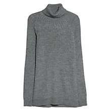 Buy Mango Chunky Knit Turtleneck Jumper Online at johnlewis.com