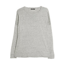 Buy Mango Dropped Seam Jumper Online at johnlewis.com