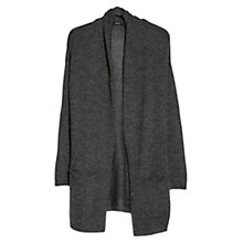 Buy Mango Mohair Cardigan, Dark Grey Online at johnlewis.com