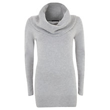 Buy Mint Velvet Cowl Neck Skinny Jumper Online at johnlewis.com