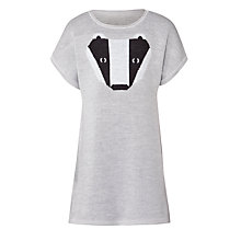Buy Donna Wilson for John Lewis Girls' Badger Dress, Grey Online at johnlewis.com