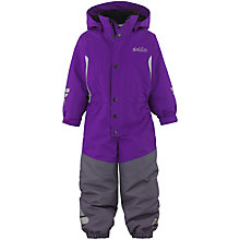 Buy Skogstad Children's Fersken All In One, Purple/Grey Online at johnlewis.com