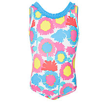 Buy John Lewis Girl Bold Floral Swimsuit Online at johnlewis.com