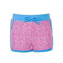 Buy John Lewis Girl Confetti Spotted Board Shorts Online at johnlewis.com