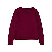 Buy Jigsaw Junior Girls' Cashmere Blend Jumper Online at johnlewis.com