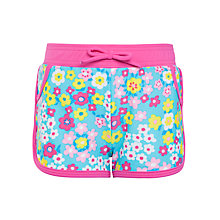 Buy John Lewis Girl Flowerbox Board Shorts, Multi Online at johnlewis.com