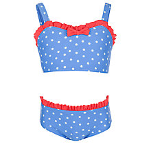 Buy John Lewis Girl Nautical Bikini, Multi Online at johnlewis.com