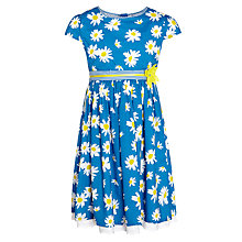 Buy John Lewis Girl Daisy Dress, Blue Online at johnlewis.com